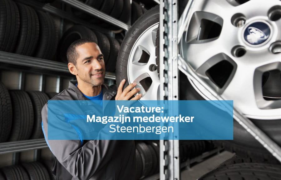 Vacature Magazijn Medewerker in Steenbergen