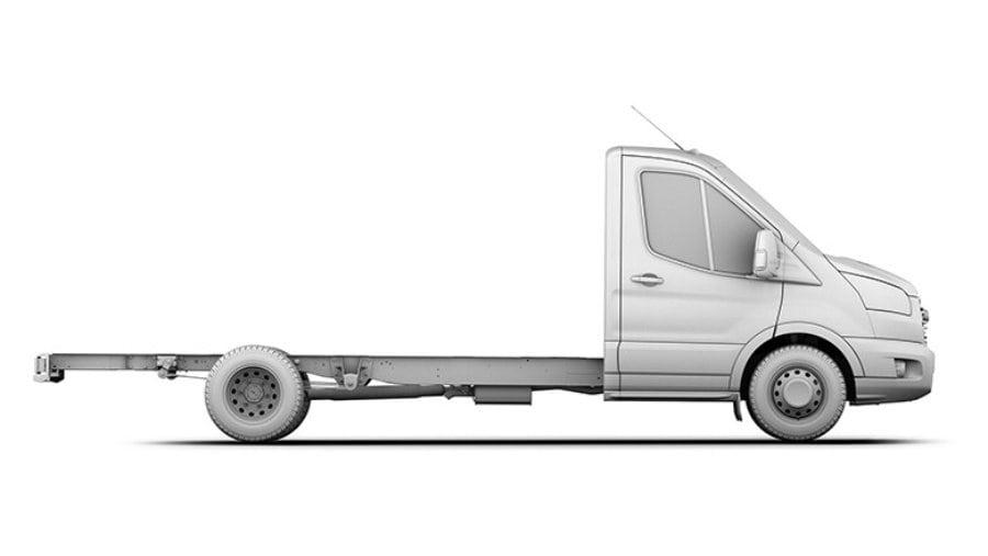 lange wielbasis met verlengd chassis