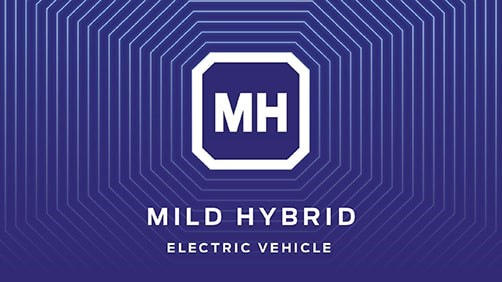 Mild Hybride electric vehicle