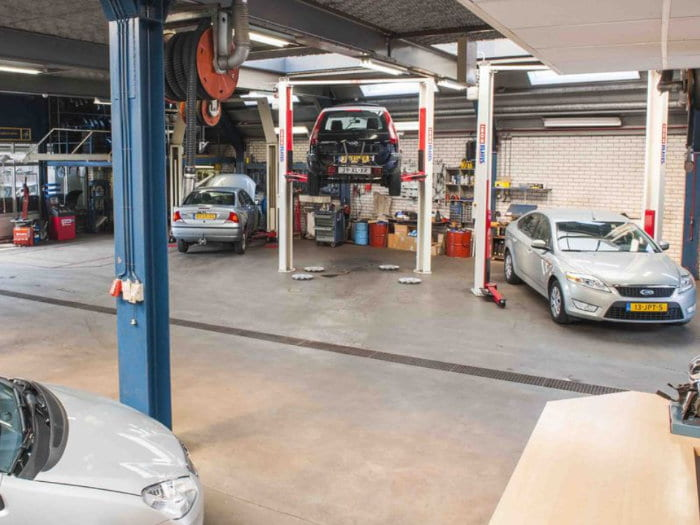 werkplaats garage