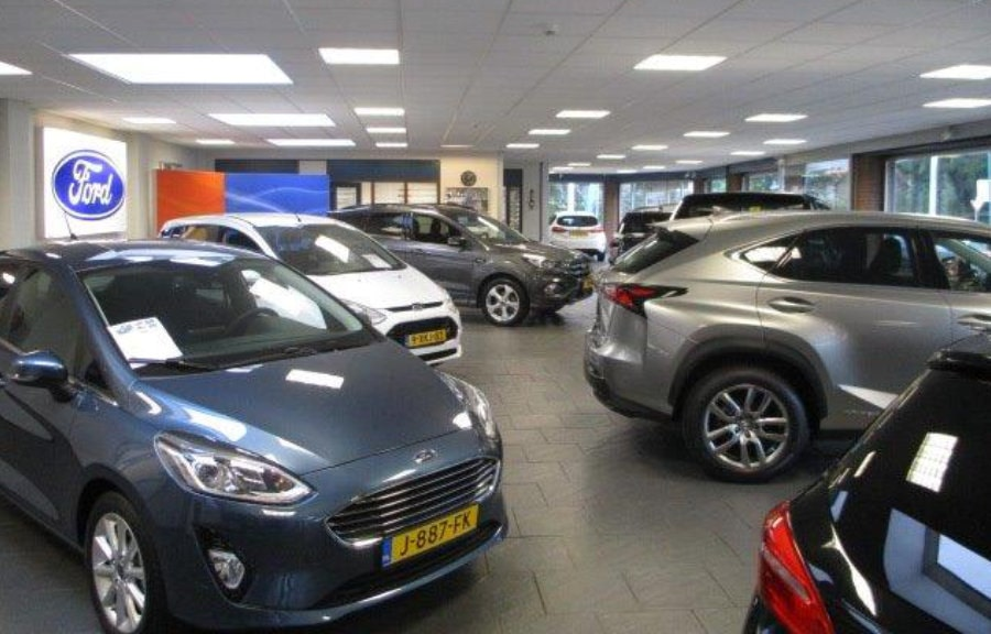 showroom ford van woudenberg in maartensdijk