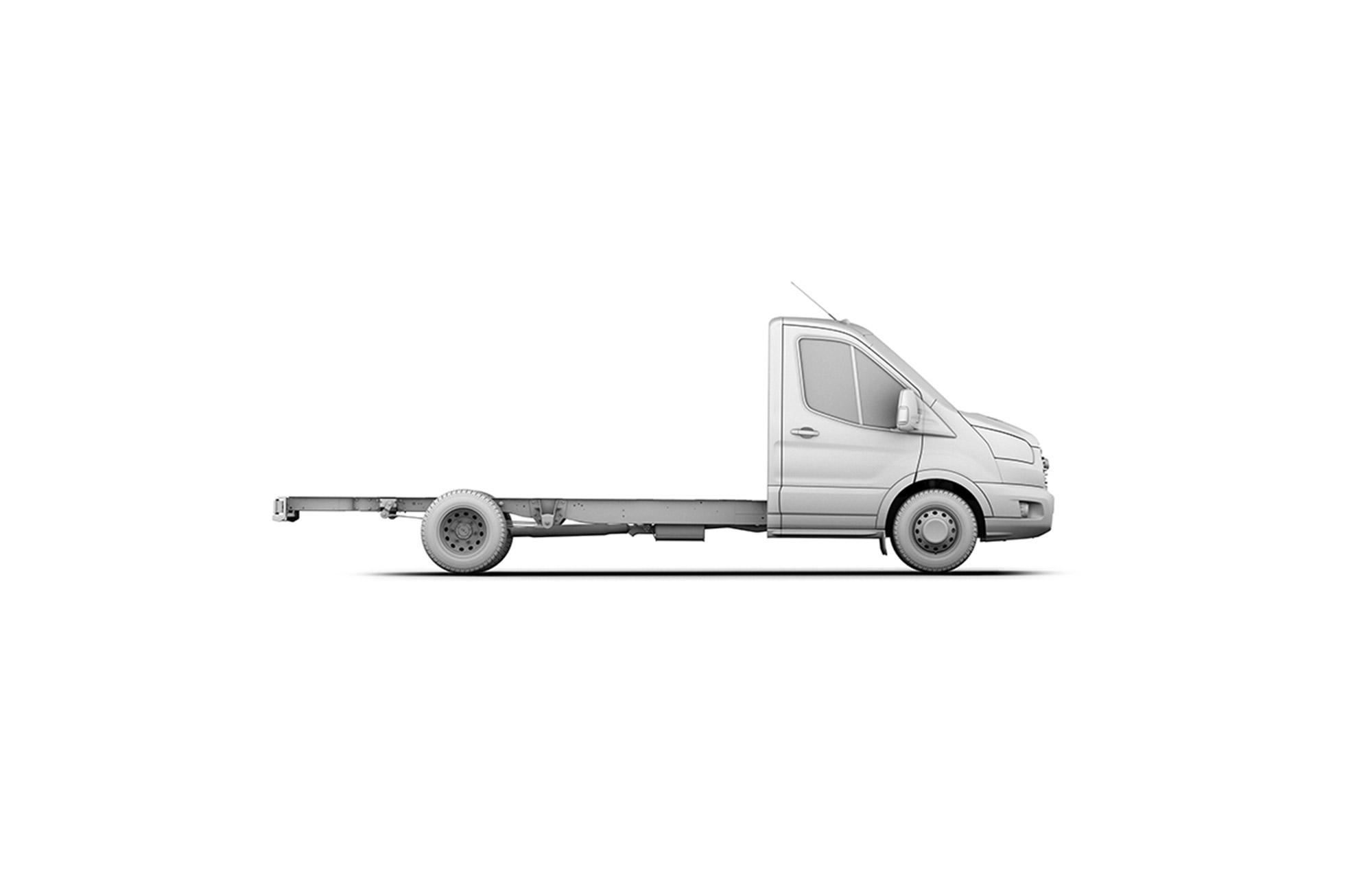 Lange wielbasis met verlengd chassis (L4)