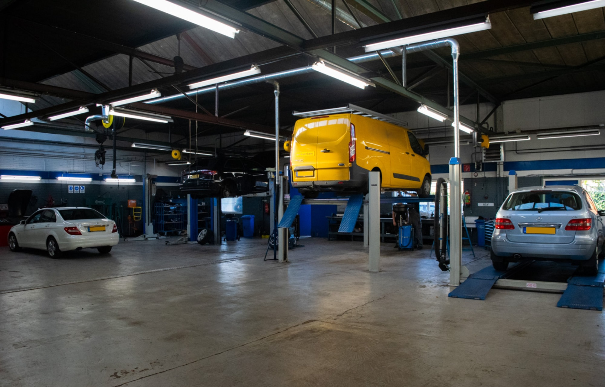 Europa Garage Werkplaats