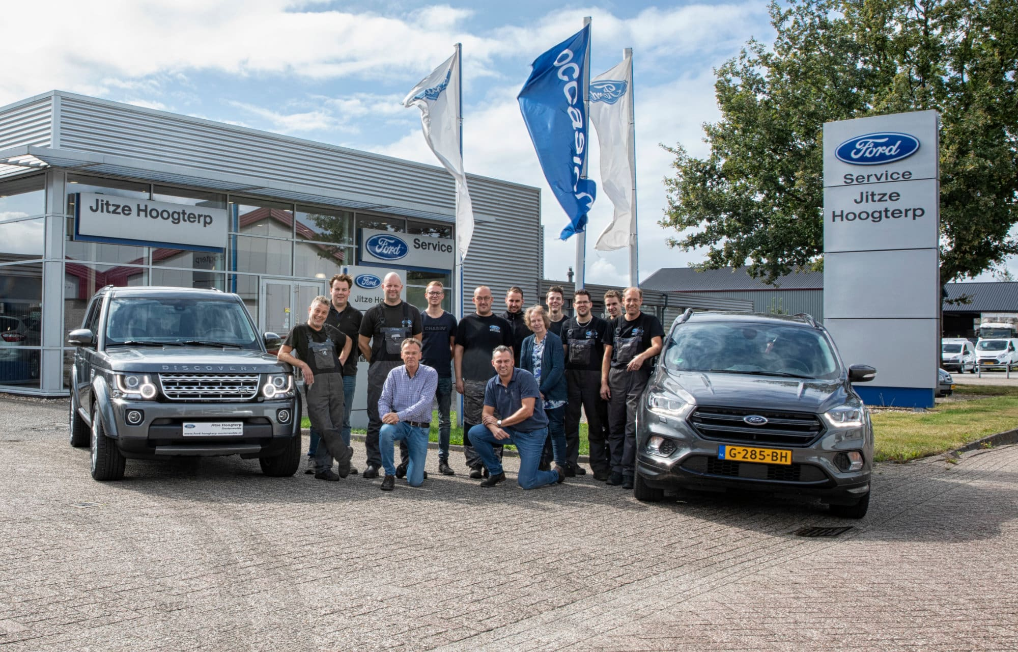 Team Ford Jitze Hoogterp in Oosterwolde