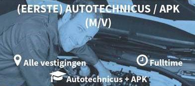 Autotechnicus gezocht