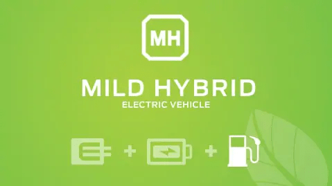 Mild Hybride electric vehicle