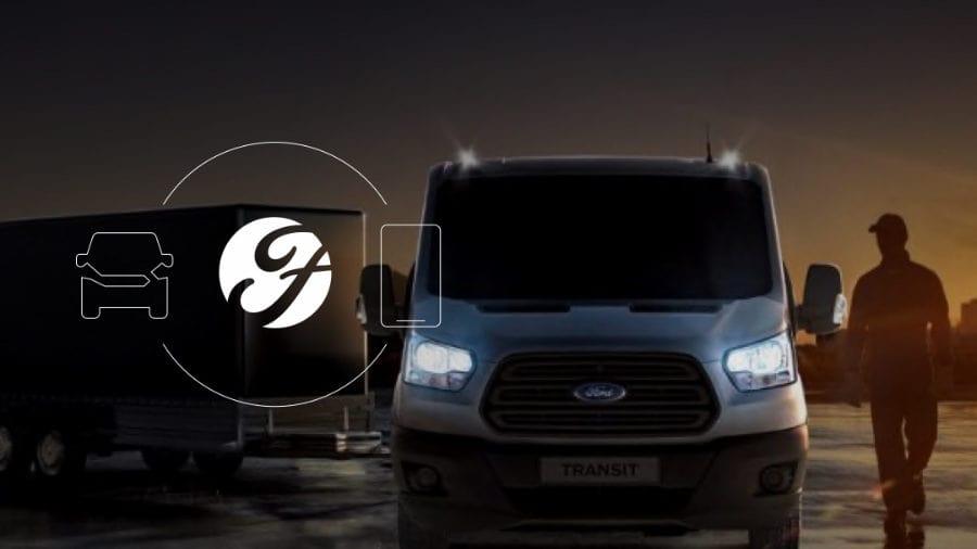 Volg je bedrijfswagens met behulp van Ford Pass Pro