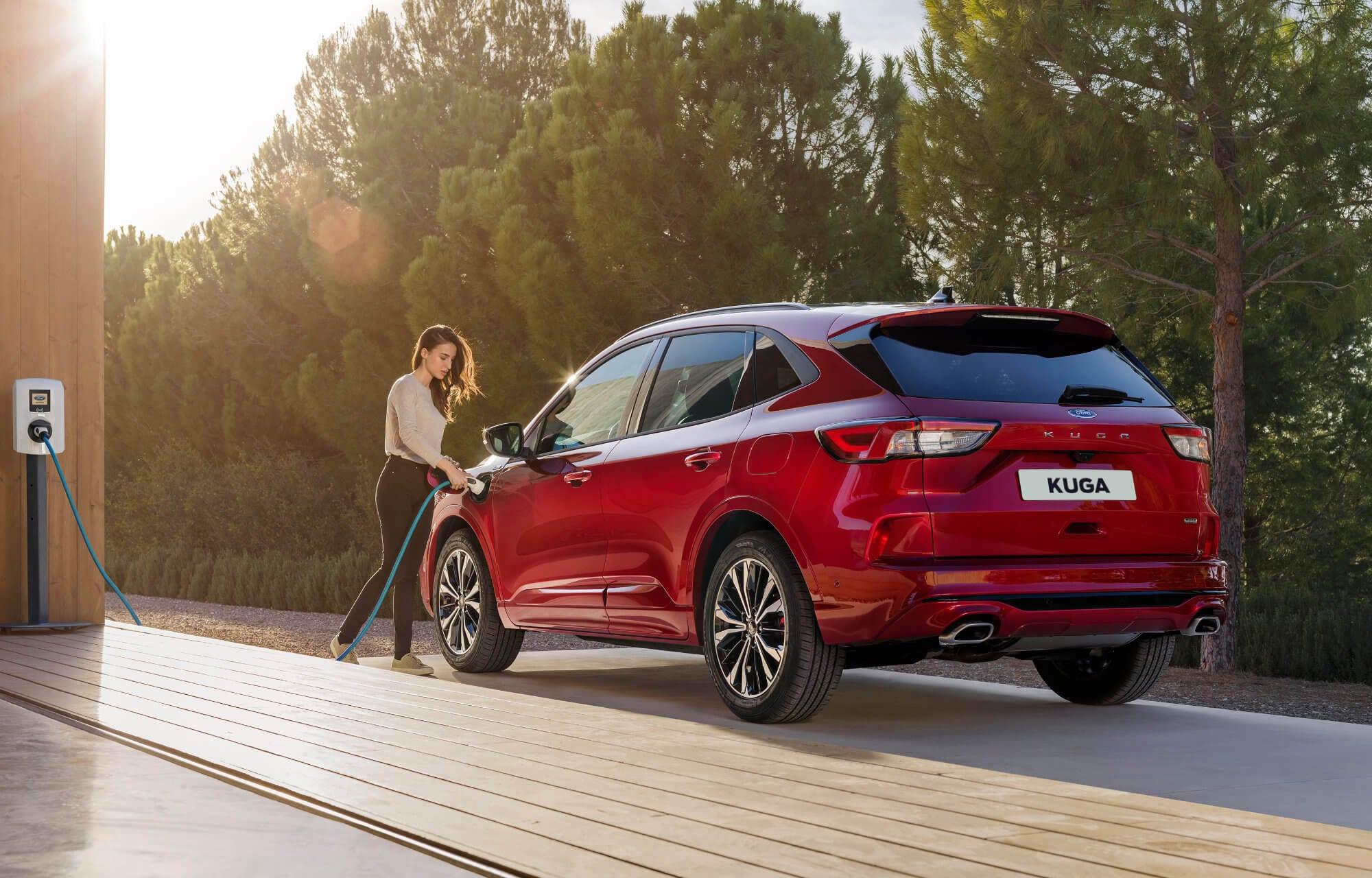 Nieuwe Ford Kuga Plug-in Hybrid (pHEV) beschikbaar vanaf begin 2020