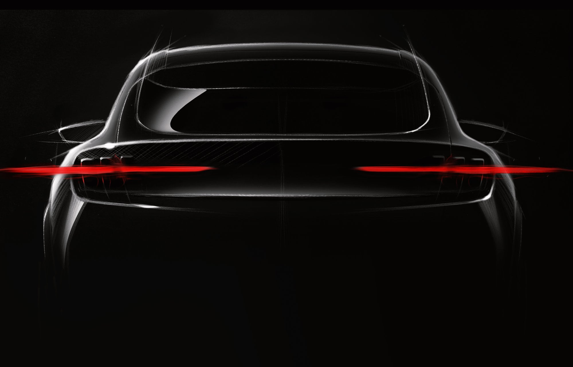 Op Mustang-geïnspireerde volledig elektrisch (EV) sportieve SUV verwacht eind 2020