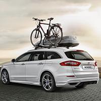 Ford fietsdrager op het dak
