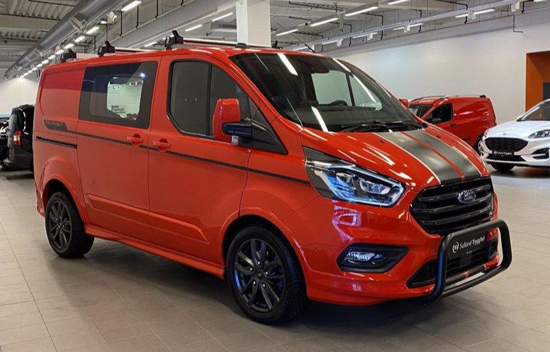 Brukt varebil - Ford Transit Custom