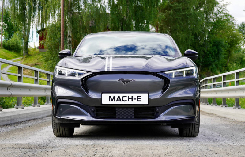 Nye helelektriske Ford Mustang Mach-E