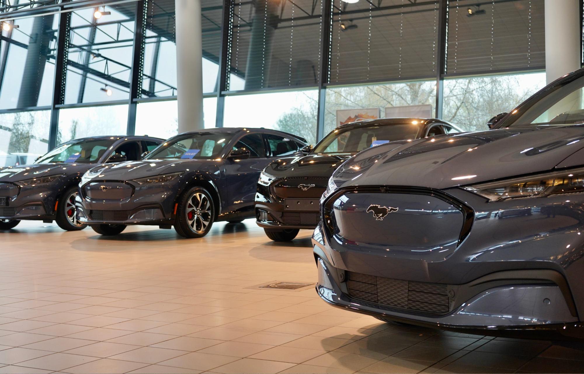 Mustang Mach-E hos Sulland