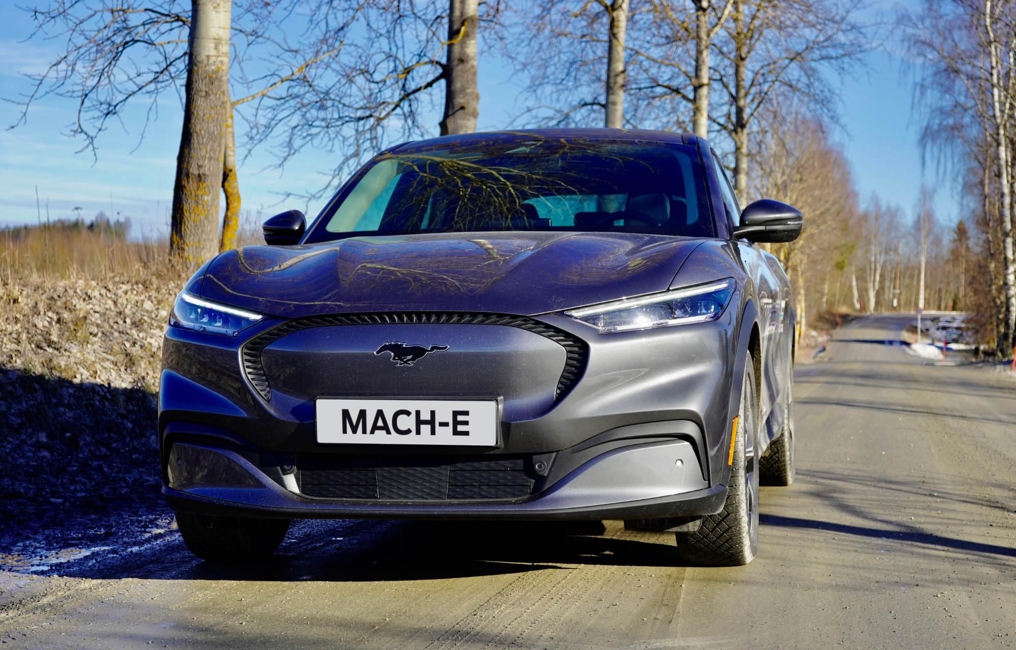 Mustang Mach-E - Sølv