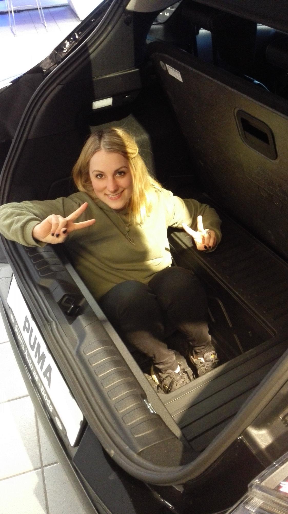 Puma bagasjeplass