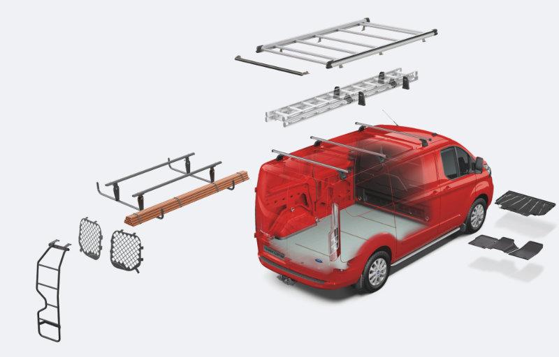 Ford Transit Connect tilbehør