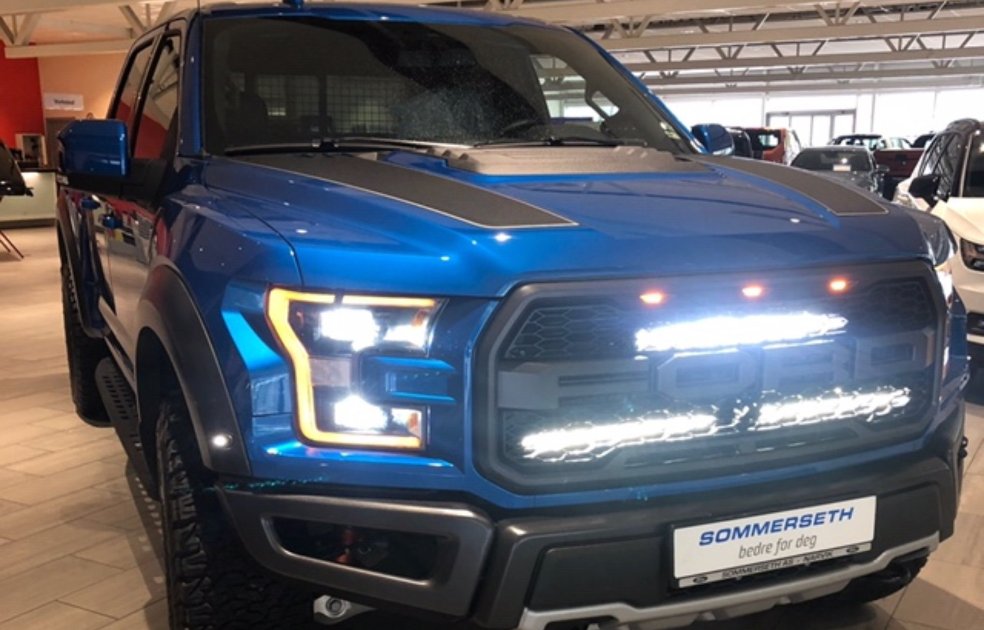 Ford F-150 lys