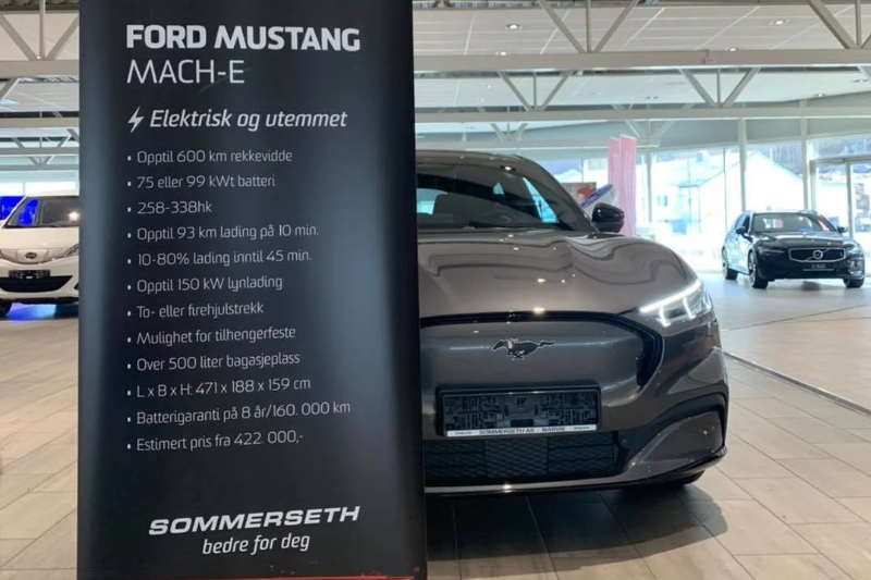 Sommerseth - Mustang Mach-E