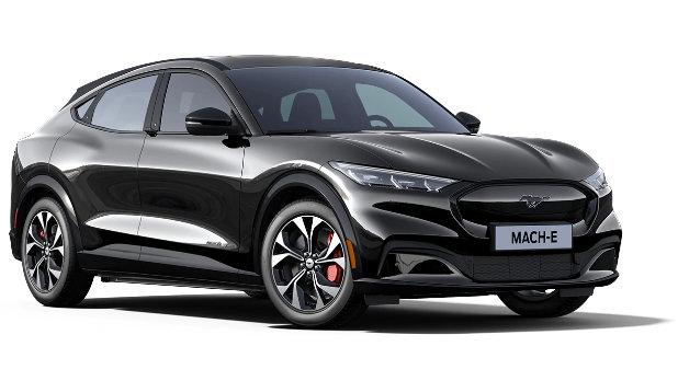 Mustang Mach-E Absolute Black