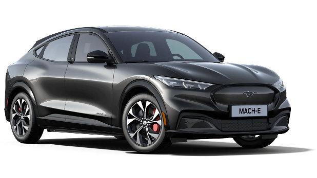 Mustang Mach-E Dark Matter Grey