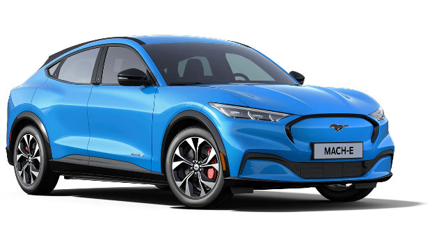 Mustang Mach-E Grabber Blue