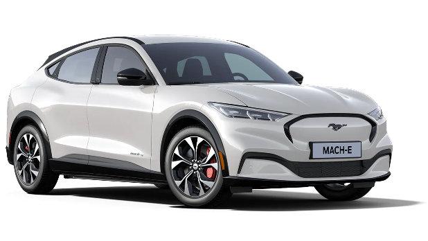 Mustang Mach-E Star White Platinum