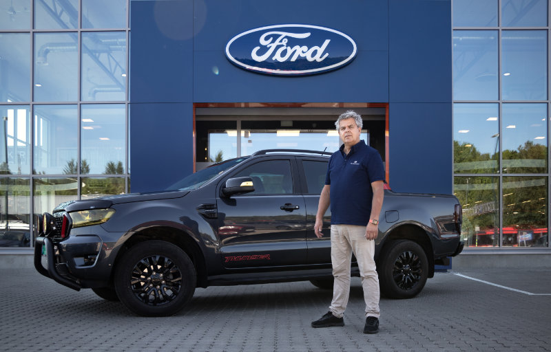 Truls i Din Bilconcierge velger Ford Ranger