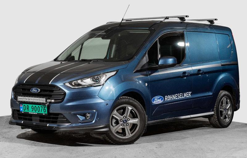Brukt varebil - Ford Transit Connect