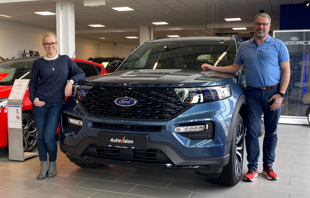Ford Explorer - 7seters SUV
