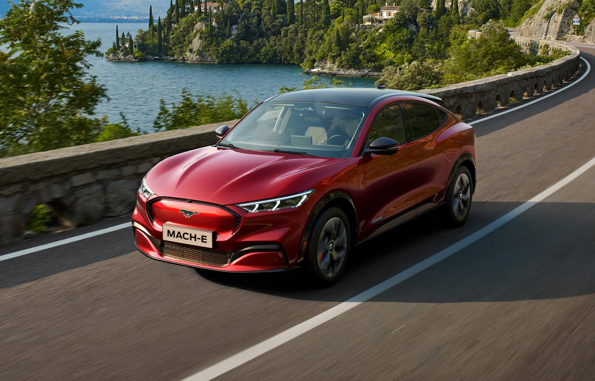 Mustang Mach-E På Vei