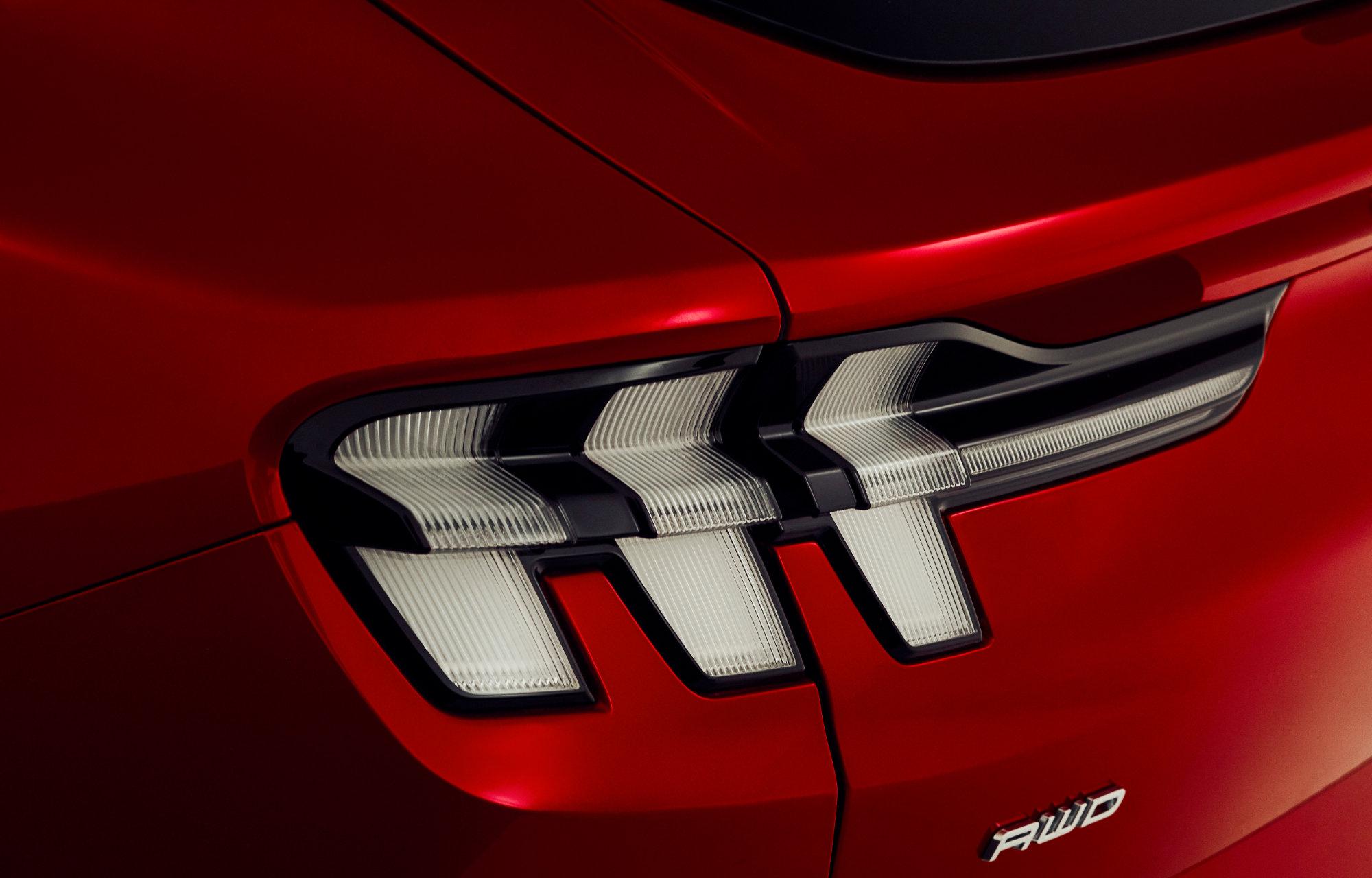 Mustang Mach-E Bakside