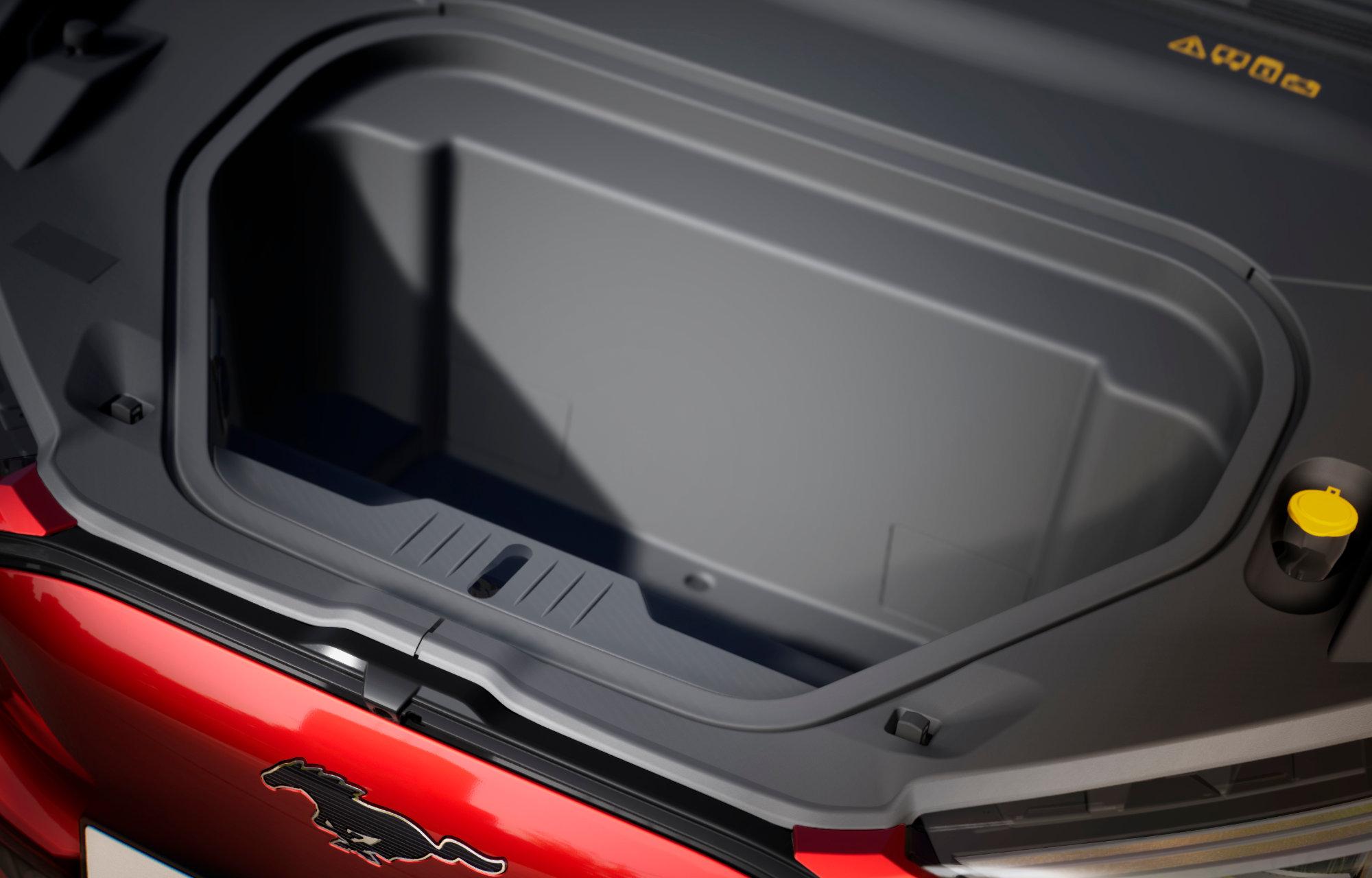 Mustang Mach-E Oppbevaringsrom