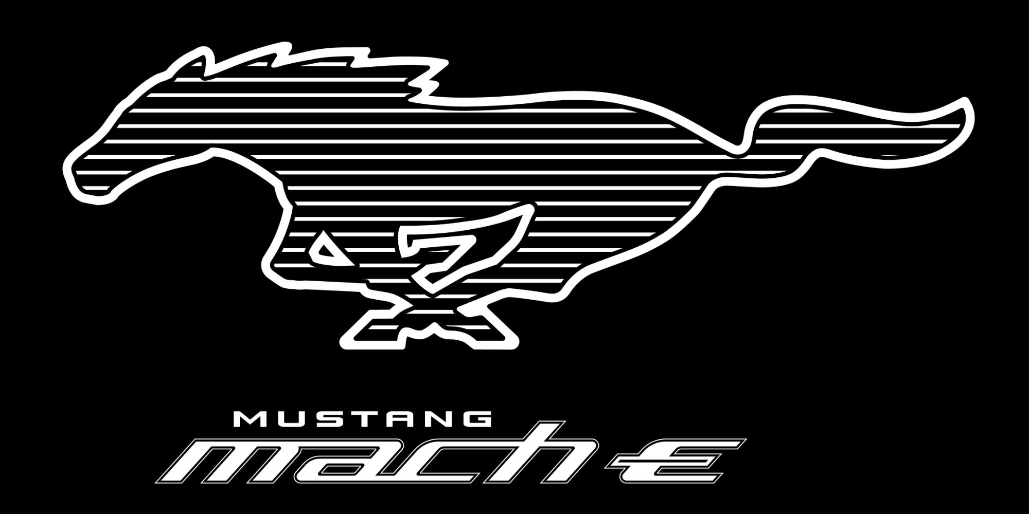 Logo Ford Mustang Mach-E
