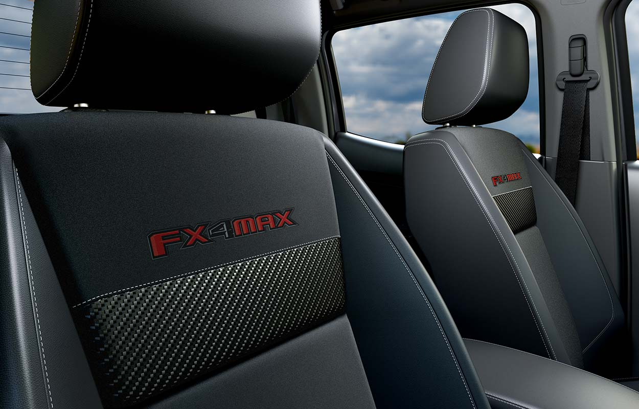 FX4 MAX Embroidered Seats