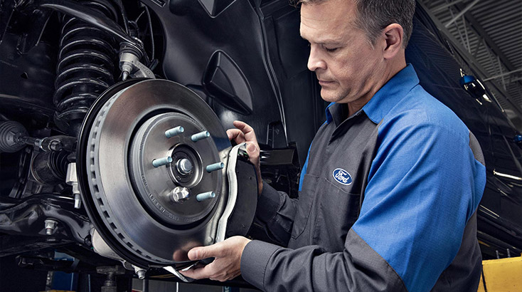 Ford Ranger front brake pad replacement