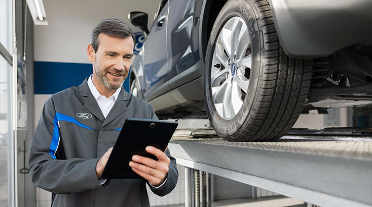 Free tyre check while you wait / Energy City Ford New Plymouth and Hawera