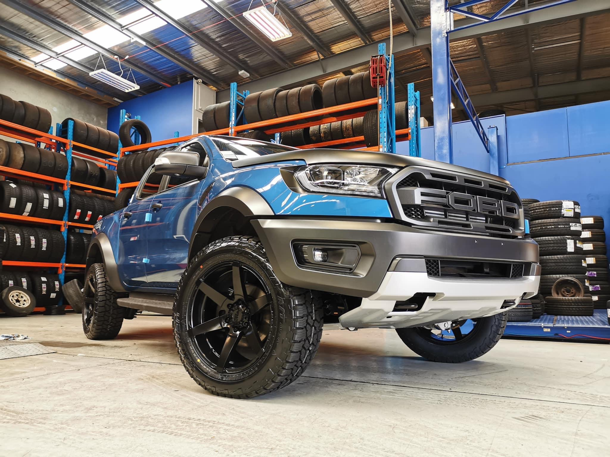 2020 FORD RANGER RAPTOR In the new colour Proformance Blue