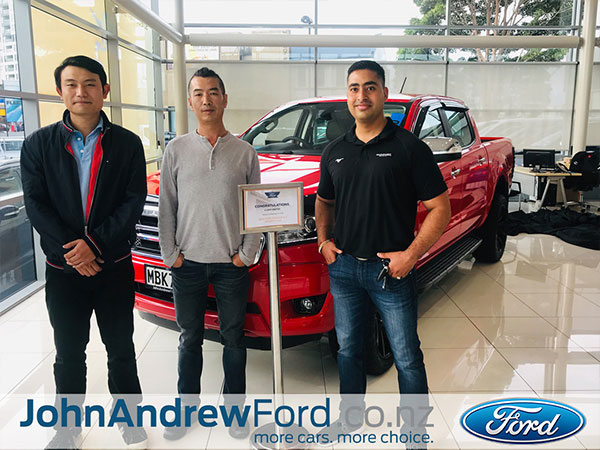 John Andrew Ford Auckland Happy Customers