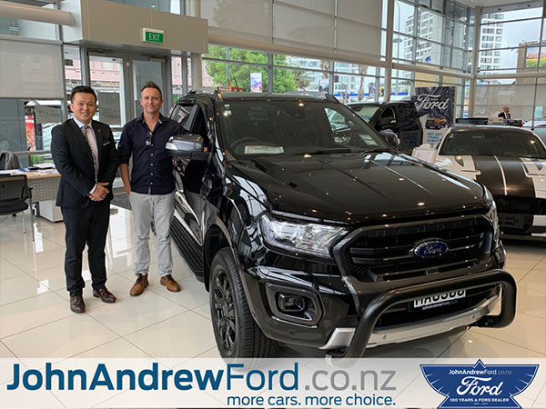 John Andrew Ford Auckland Happy Customer
