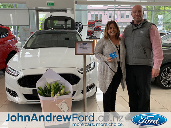 John Andrew Ford, Auckland Happy Customer