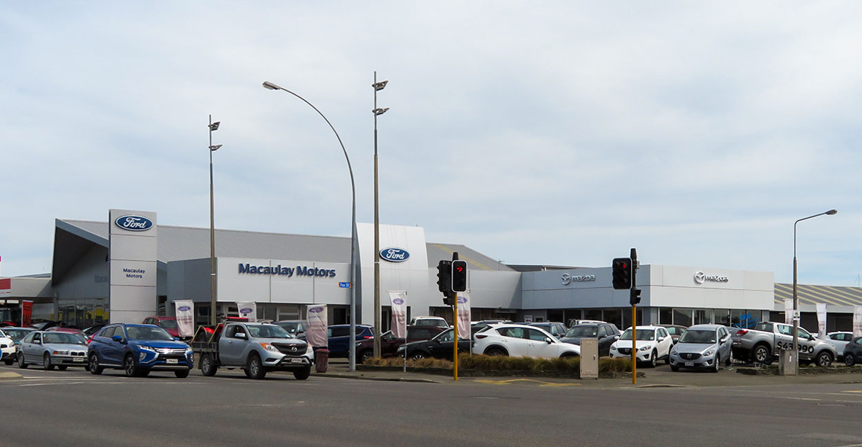 Macaulay Ford Queenstown branch