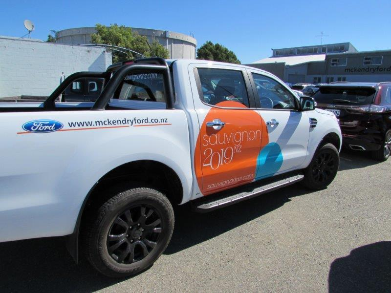 McKendry Ford - vehicle sponsors for Sauvignon 2019