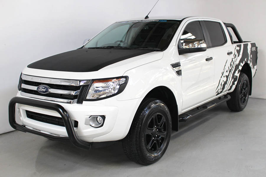 Ford Ranger Cool White 135