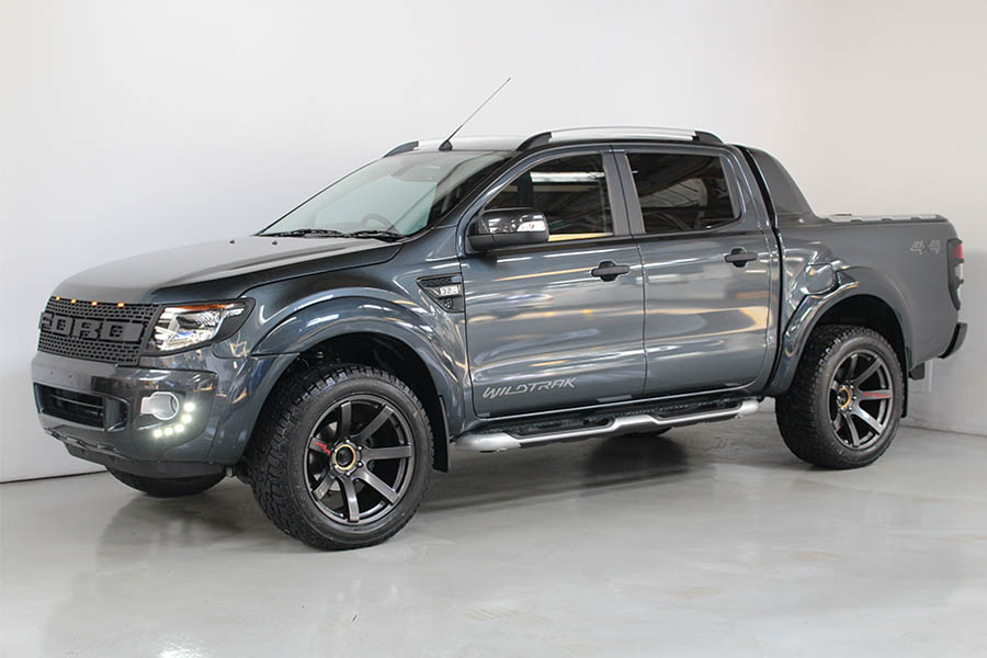 Ford Ranger Metro Grey 139
