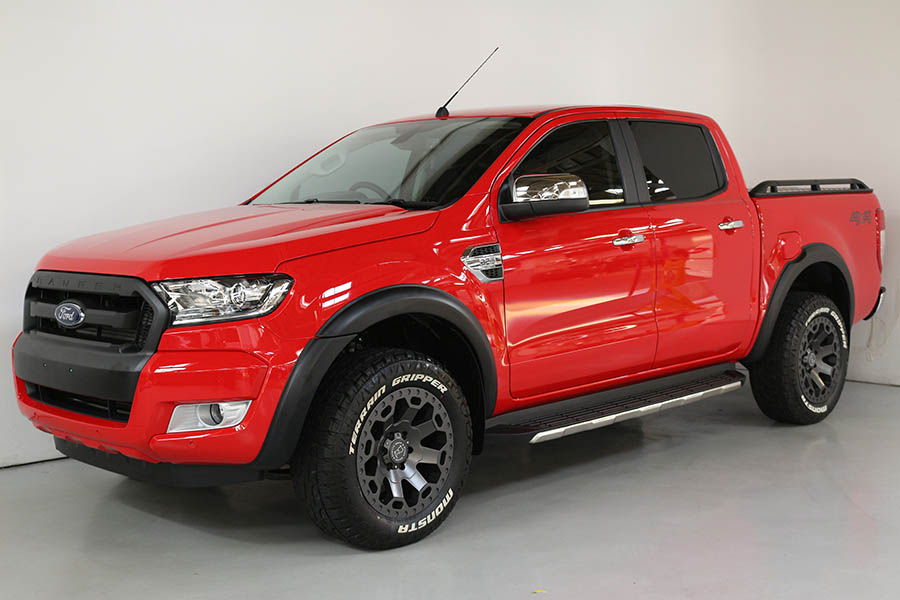 Ford Ranger True Red 166