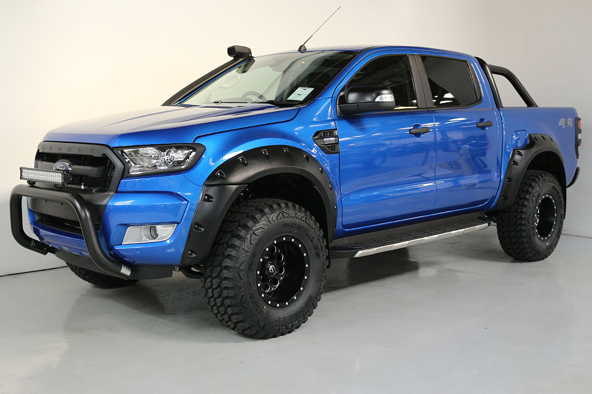 Team Hutchinson Ford Ranger Winning Blue 292