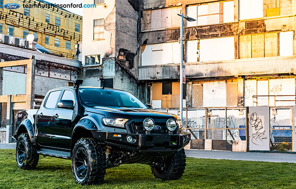 Team Hutchinson Ford Ranger XLT with Iron Man 4x4 accessories