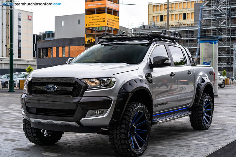 Team Hutchinson Ford Ranger Wildtrak Build