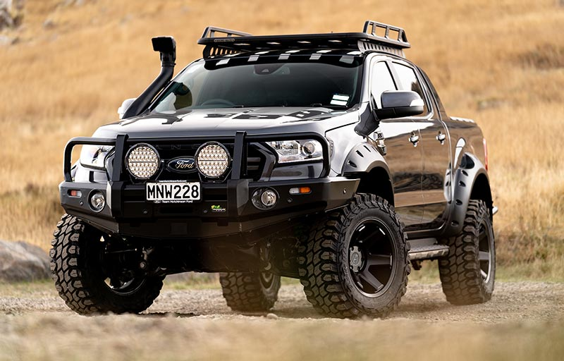 Ford Ranger Wildtrak 4x4 Auto Meteor Grey | Team Hutchinson Ford Christchurch