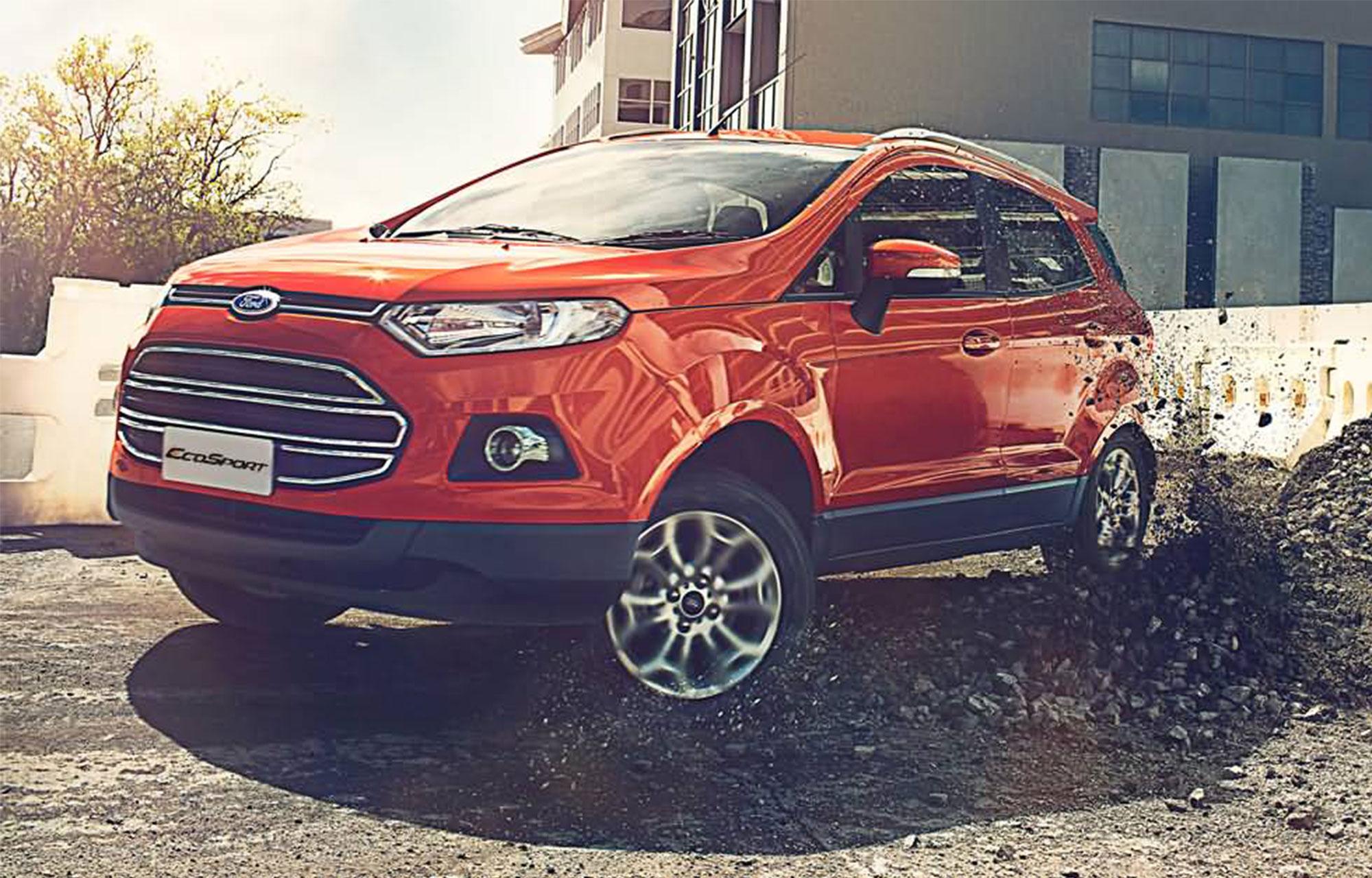 2017 Ford Ecosport TITANIUM